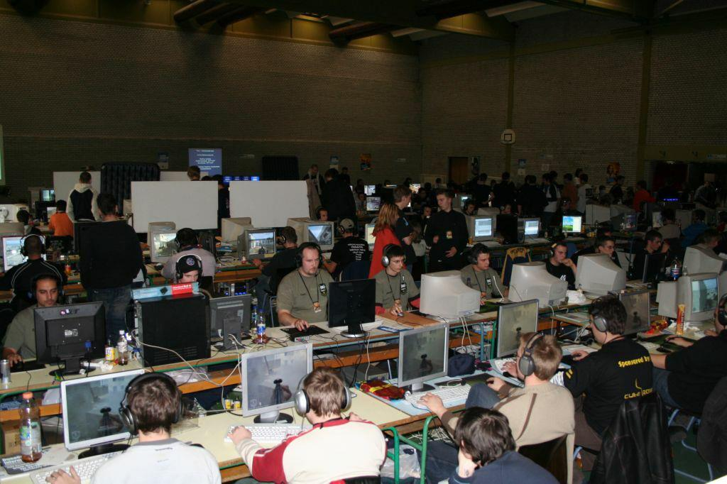 Prague Call of Duty 1 LAN 2020