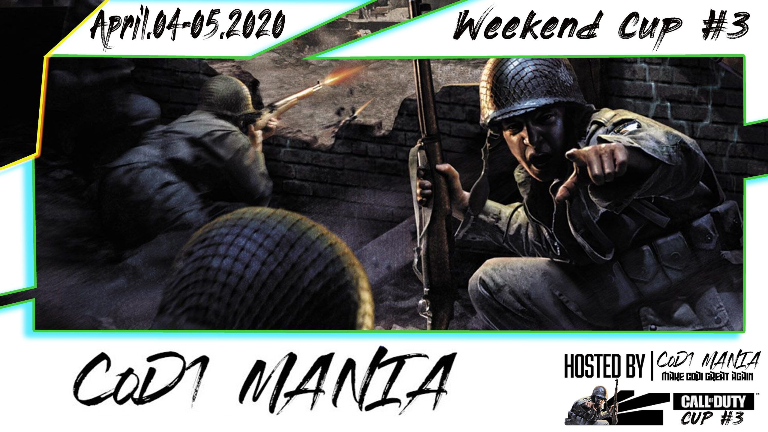 CoD1Mania Cup #3 – Weekend cup