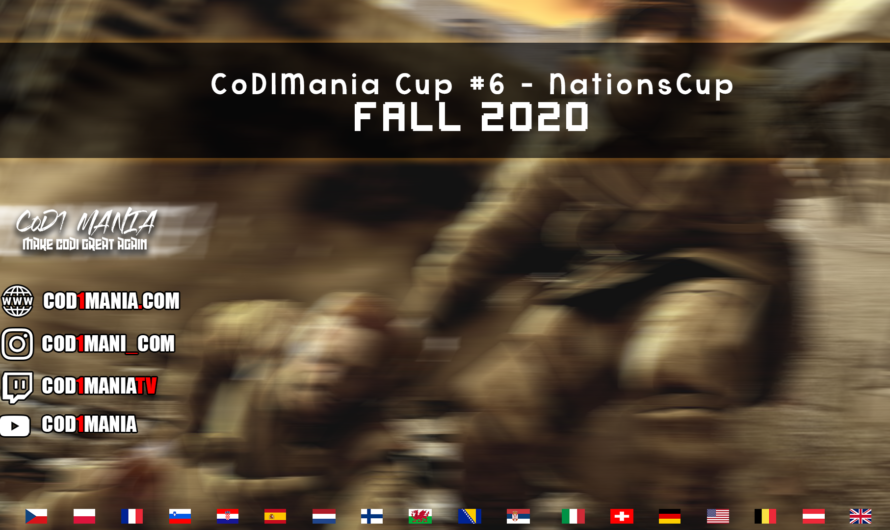 CoD1Mania NationsCup Fall 2020 – Team captains